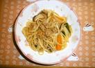 簡単ミートスパゲティ