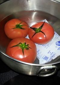 トマトの湯むきの仕方