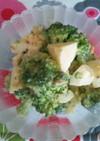 簡単☆ブロッコリーとゆで卵のサラダ
