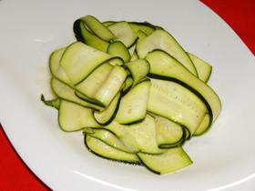 ズッキーニのサラダ★シンプルにベスト食感