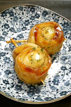 お弁当・運動会★竹輪&うずらの卵照り焼き