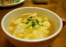 ふんわり~♪高野豆腐の卵スープ