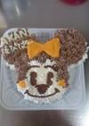 ミニーちゃん デコレーションケーキ