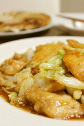 お肉柔らか*鶏胸肉とキャベツの旨ダレ炒め