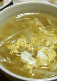 中華風~もやしと卵の簡単スープ