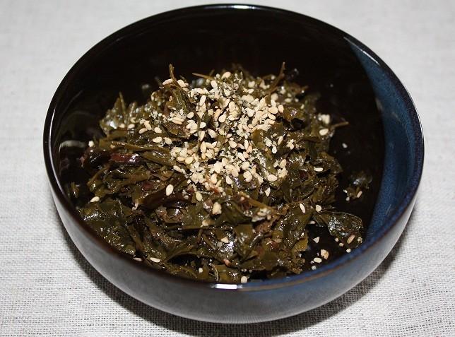 茶殻の佃煮