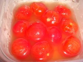 ミニトマトの蜂蜜漬け