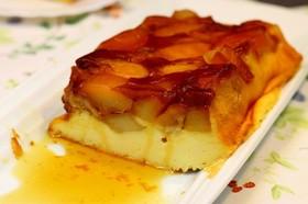 カラメルりんごのチーズケーキ