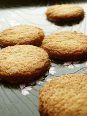 低糖質*軽い食感*おからクッキーの写真