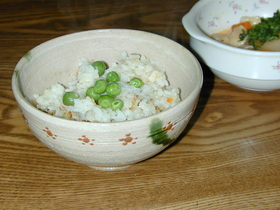 鶏肉の洋風炊き込みご飯