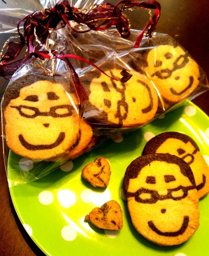 似顔絵アイスボックスクッキー