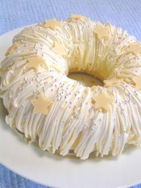 X'mas angel cake