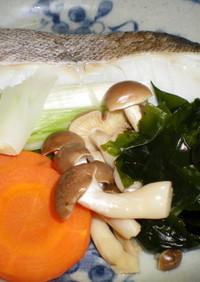 チンタラ (鱈のレンジ蒸し)