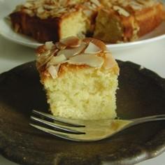 酵母でフルブラケーキ