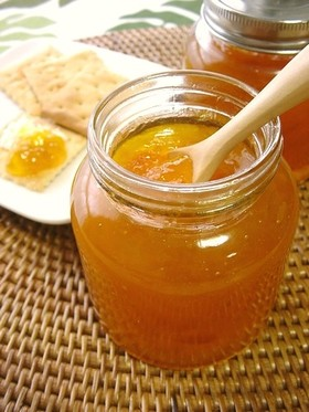 南高梅の蜂蜜ジャム。