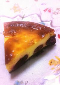 ୨୧ チェリーまるごとチーズケーキ ୨୧