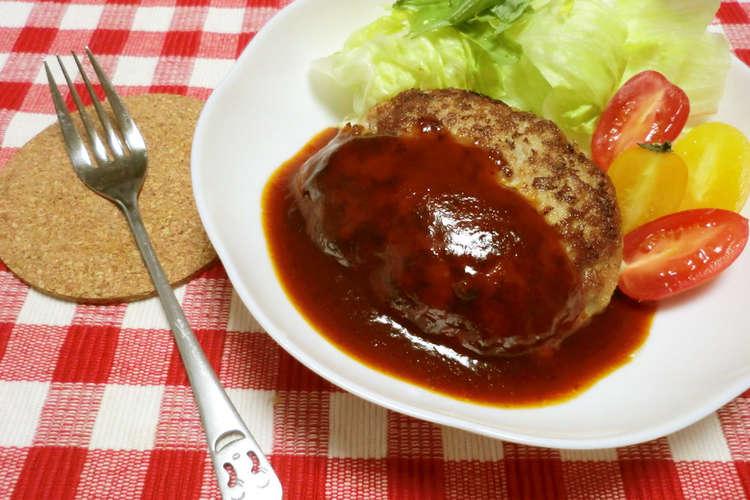 レシピ 豆腐 ハンバーグ