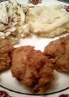 American KFCのフライドチキン