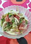 簡単☆ささみと豆苗サラダ