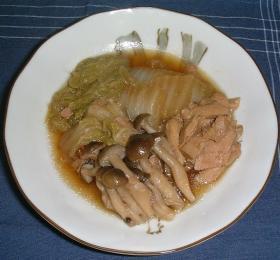 ツナと白菜の煮物