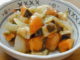 卯の花だんごの甘酢煮