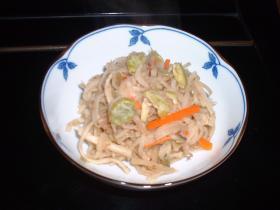打ち豆(つぶし豆)と切干大根の煮物