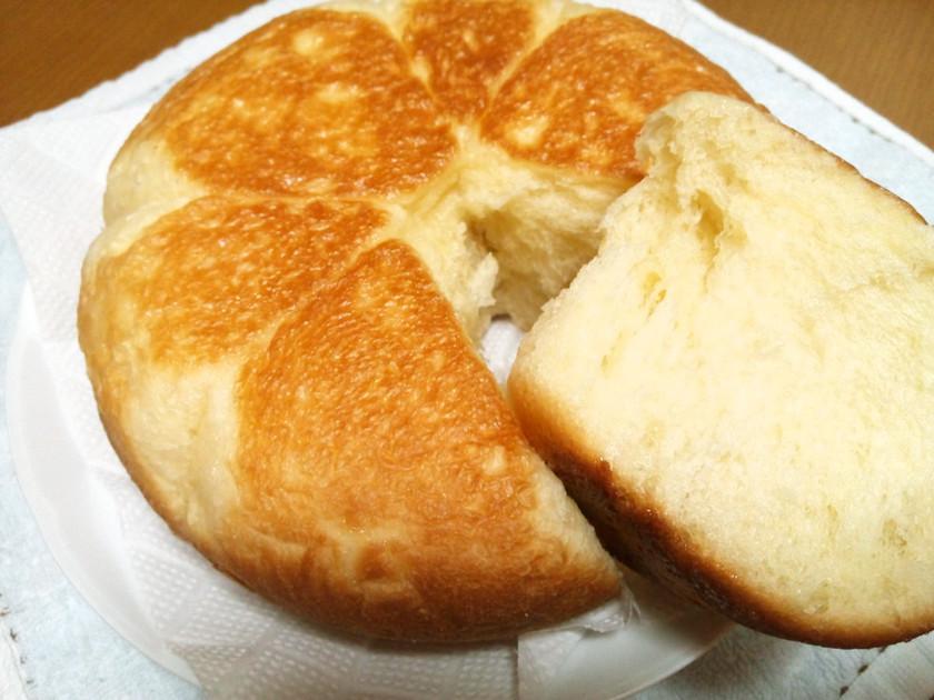 フライパンで☆ふんわり甘いちぎりパン