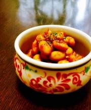 大豆のケチャカレー炒め♪の写真