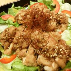 香味ダレたっぷり♬油淋鶏(ユーリンチー)