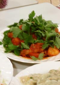 韓国料理☆鶏のコチュジャン煮「タッチム」