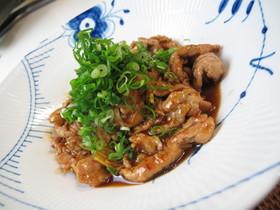 豚肉の黒酢炒め ~さっぱり~