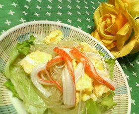 味付け絶妙♪♪炒り卵の☆春雨サラダ