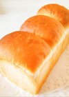 手ごねでふんわり美味♪基本の山型食パン☆