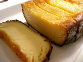 ホームベーカリーで作るベイクドチーズケーキ