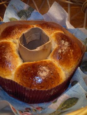 りんごのリングパン☆