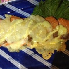 サーモンチーズ(=^ェ^=)