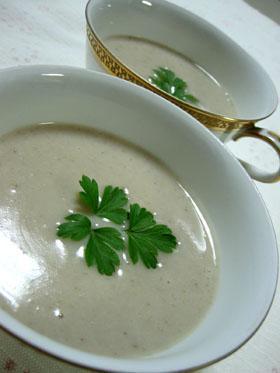 *旬の美味*里芋のポタージュスープ