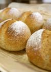 ライ麦プチパン。(HB使用低温発酵)
