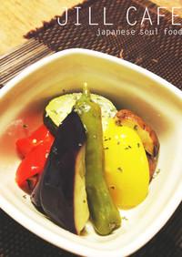 夏野菜の揚げマリネ