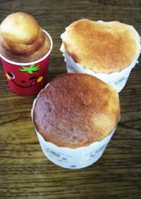 ホットケーキmixで簡単カップケーキ♡