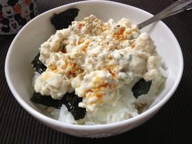 夏に!朝ごはんに!1人飯★豆腐だけ丼