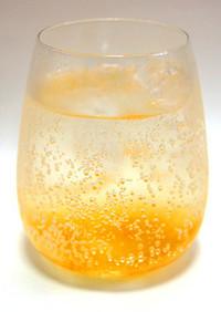 美生柑マーマレードで作る自家製ソーダ