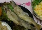 ヤマメ イワナ 川魚の唐揚げ