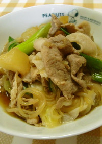 ★豚肉と大根の*中華風煮込み*ですよ。♪