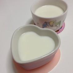 懐かしい☆簡単☆牛乳プリン♪