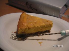 キャラメル・かぼちゃチーズケーキ