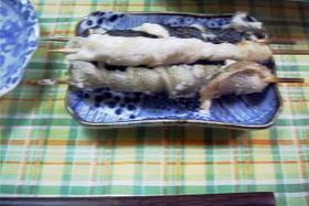 鰈とアイナメの皮焼き