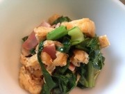 乾燥えのき⭐干しえのきと小松菜の写真