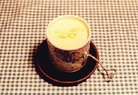 ココナッツ蒸しプリン