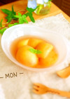 桃のコンポート♪( ´▽`)